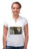 """Рубашка Поло """"Враждебные силы (Густав Климт)"""" - картина, живопись, климт, бетховенский фриз"""