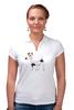 """Рубашка Поло """"ДЖЕК РАССЕЛ.СОБАКА"""" - майкл джексон, щенок, собака, животное, рассел"""