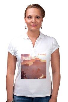"""Рубашка Поло """"Horizon Zero Dawn"""" - hades, истребитель, horizon zero dawn, пилозуб, щелкозуб"""