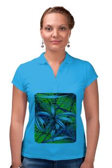 """Рубашка Поло """"Песочные часы"""" - бант, очки, линии, купальник, знак бесконечности"""