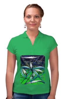 """Рубашка Поло """"Песочные часы"""" - очки, купальник, знак бесконечности, воланы"""