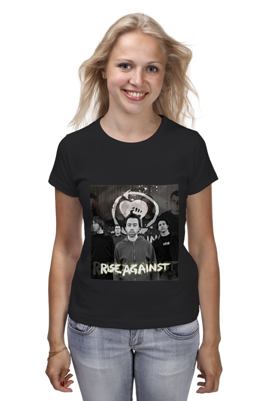 Футболка классическая Printio Rise against - photo футболка стрэйч printio rise against photo