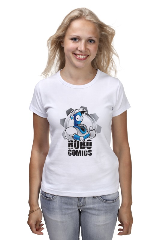 Фото - Футболка классическая Printio Символ robocomics футболка wearcraft premium slim fit printio символ robocomics