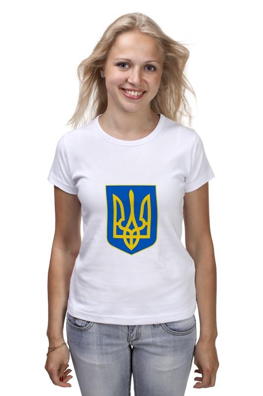 все цены на Футболка классическая Printio Герб украины онлайн