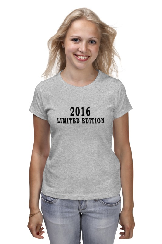 Футболка классическая Printio 2016 limited edition