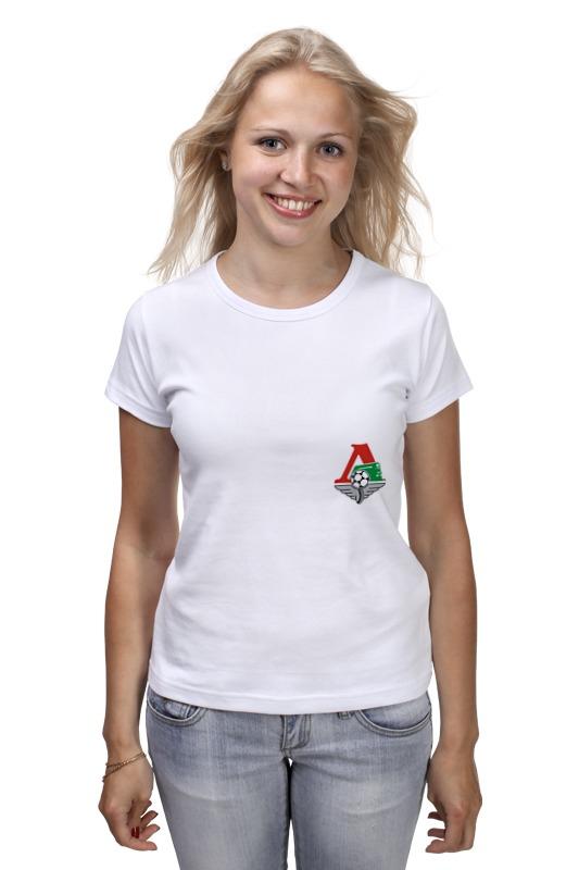 Футболка классическая Printio Fc lokomotiv футболка wearcraft premium printio fc lokomotiv