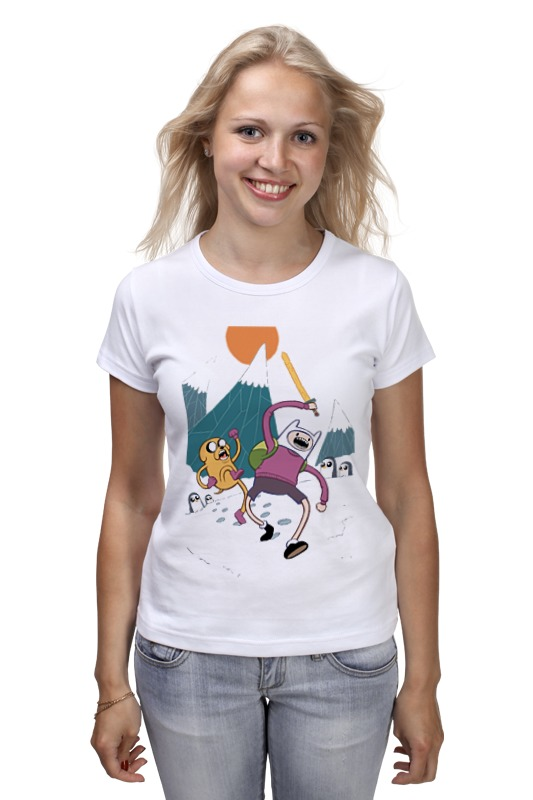 Футболка классическая Printio Adventure time футболка классическая printio adventure time