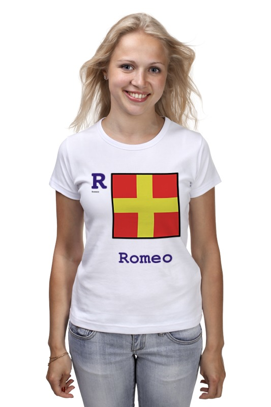 Футболка классическая Printio Romeo (r), флаг мсс (eng) детская футболка классическая унисекс printio india i флаг мсс eng