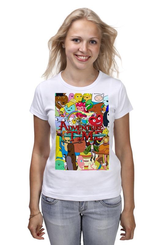 Футболка классическая Printio Adventure time футболка классическая printio adventure time x doctor who