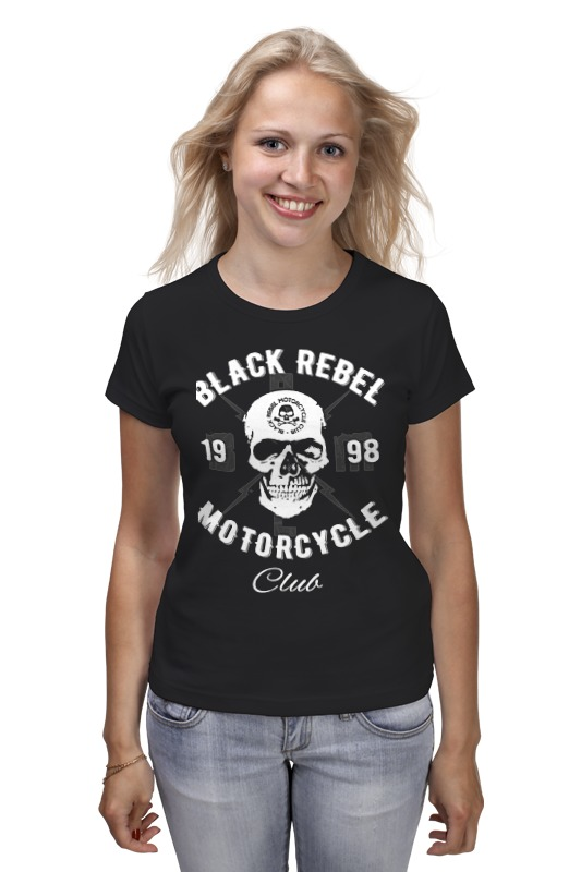 Футболка классическая Printio Black rebel motorcycle club футболка wearcraft premium printio black rebel motorcycle club