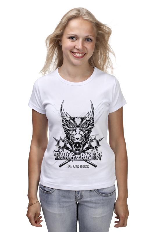 Футболка классическая Printio Дракон таргариенов (игра престолов) футболка wearcraft premium printio игра престолов