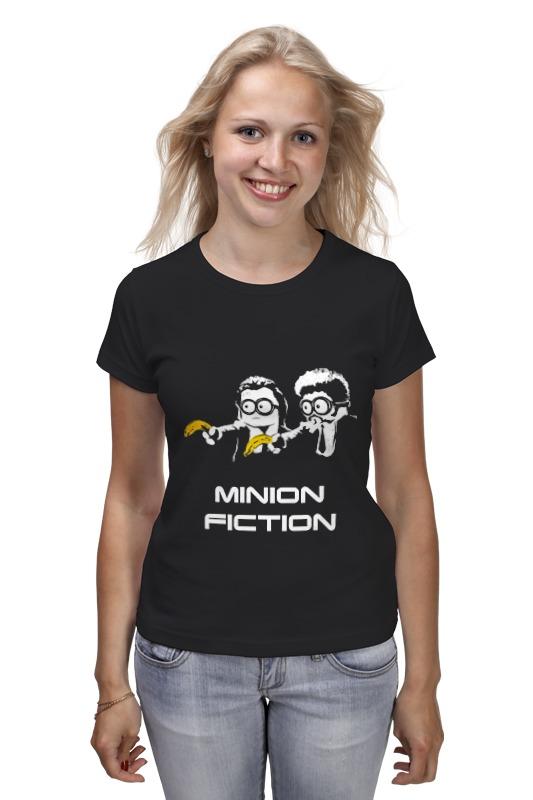 Футболка классическая Printio Minion fiction худи print bar adventure fiction