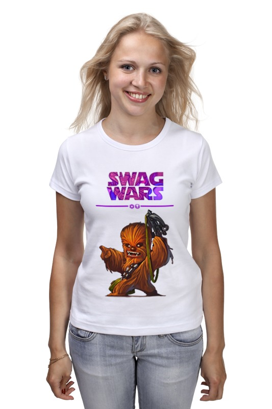 Футболка классическая Printio Swag wars - star wars футболка print bar star wars leia и luke skywalker