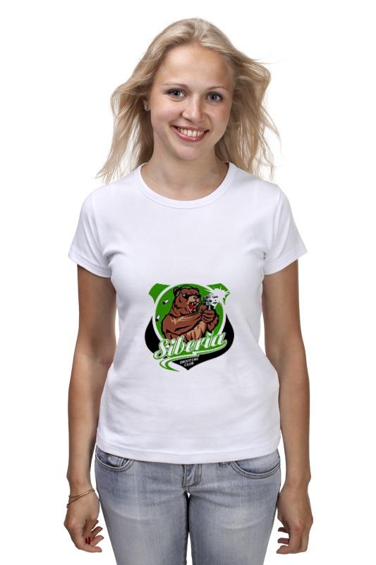 Футболка классическая Printio Сибирь футболка это мать сибирь