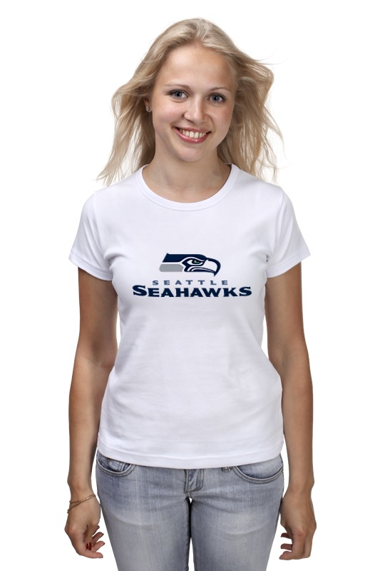Футболка классическая Printio Seattle seahawks майка print bar seattle seahawks