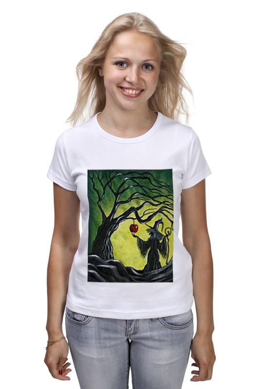 Футболка классическая Printio Заколдованное яблоко футболка с полной запечаткой для девочек printio заколдованное яблоко