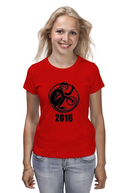 Футболка классическая Printio 2016 год - год красной обезьяны валентин рунов удар по украине вермахт против красной армии