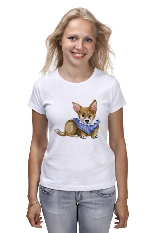 Футболка классическая Printio Акварельная собачка футболка классическая printio акварельная новогодняя забавная собака
