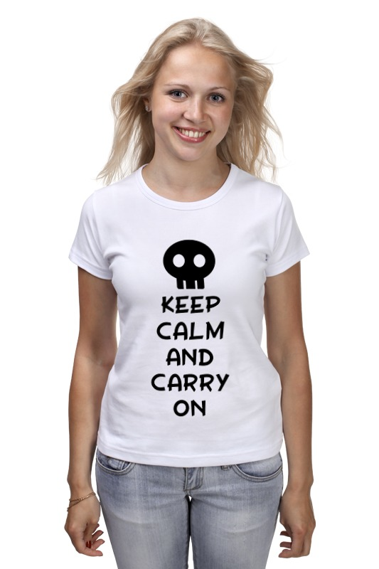 Футболка классическая Printio Keep calm and carry on лонгслив printio keep calm and carry on