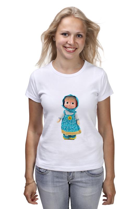 Футболка классическая Printio Кукла маша из мульта. смешная озорная. . кукла yako m6579 6