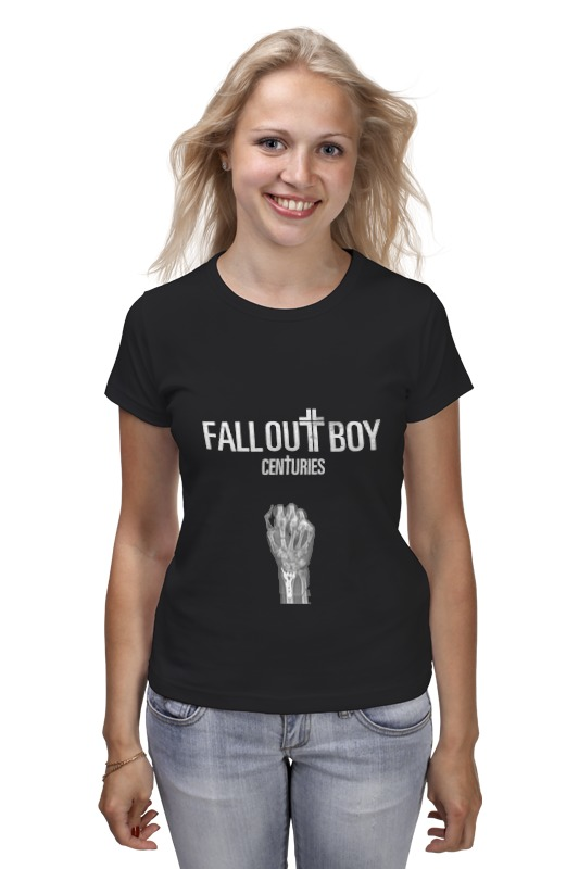 Футболка классическая Printio Fall out boy - centuries fall out boy – mania cd