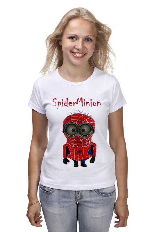 Футболка классическая Printio Spider minion лонгслив printio spider minion