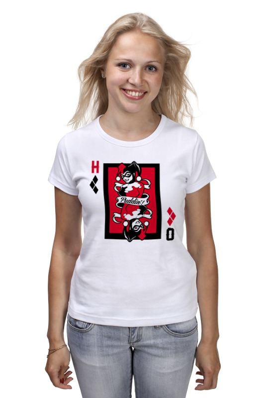 Printio Харли квинн футболка харли квинн