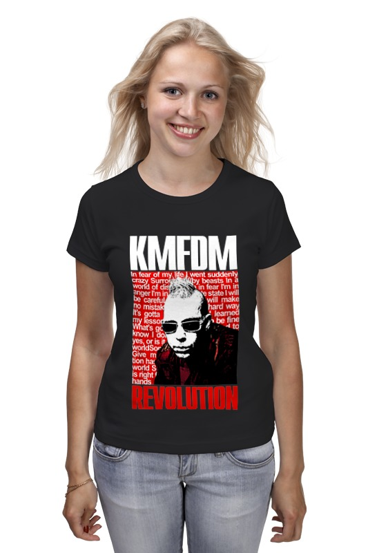 все цены на Футболка классическая Printio Kmfdm revolution sascha konietzko
