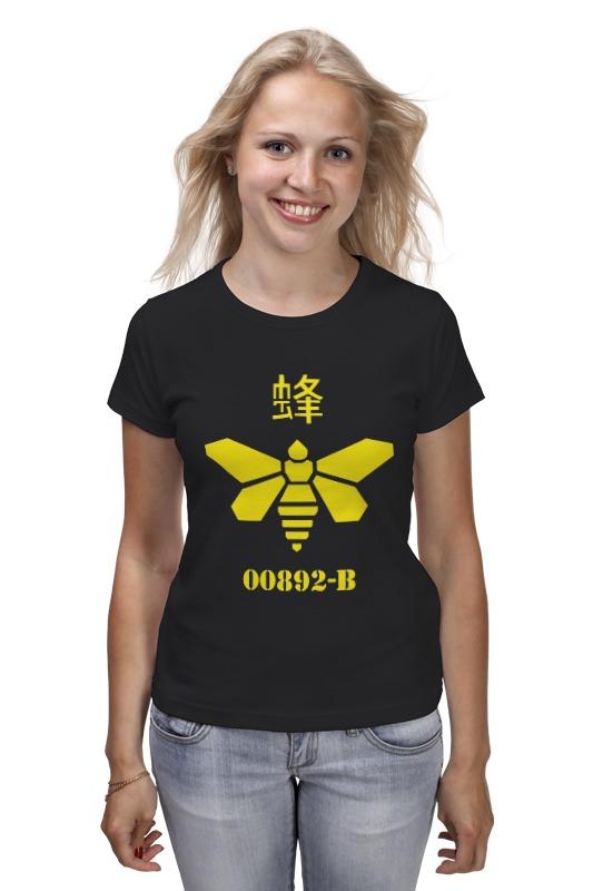 Футболка классическая Printio Methylamine bee (breaking bad) футболка классическая printio methylamine bee breaking bad