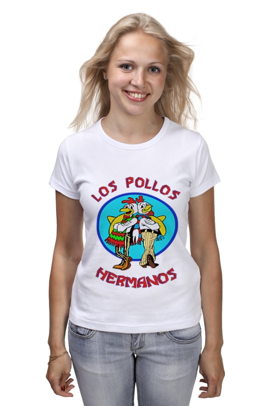 Футболка классическая Printio Los pollos hermanos (breaking bad) los dias felices