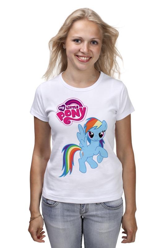 Футболка классическая Printio My little pony girl babar s little girl