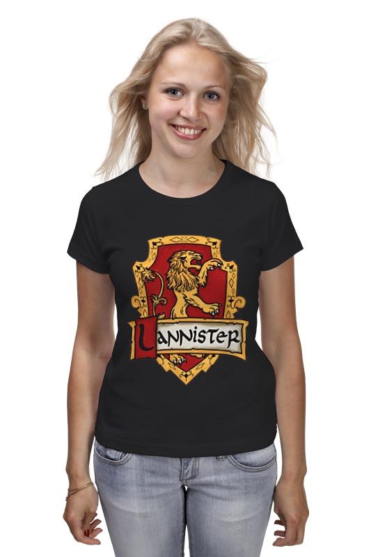 Футболка классическая Printio Ланнистеры футболка классическая printio ланнистеры