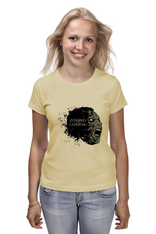 Printio Zombies is coming футболка классическая printio zombies is coming