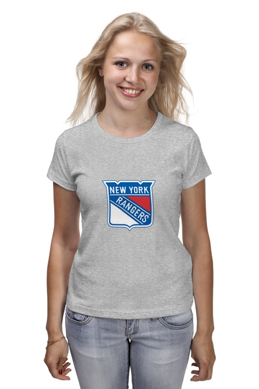 Футболка классическая Printio New york rangers / nhl usa футболка wearcraft premium printio new york rangers nhl usa