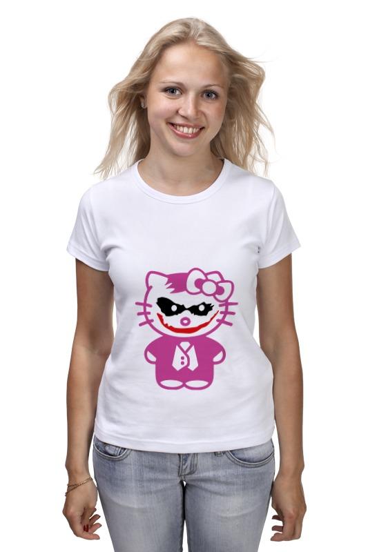 Футболка классическая Printio Hello kitty joker детская футболка классическая унисекс printio hello joker kitty