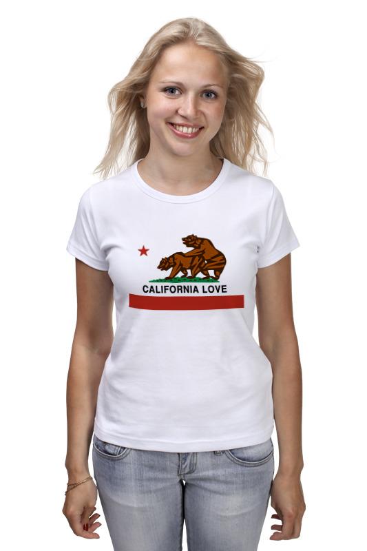 Футболка классическая Printio California love printio футболка стрэйч