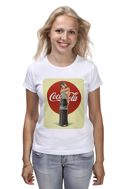 Футболка классическая Printio Coca-cola кружка printio coca cola