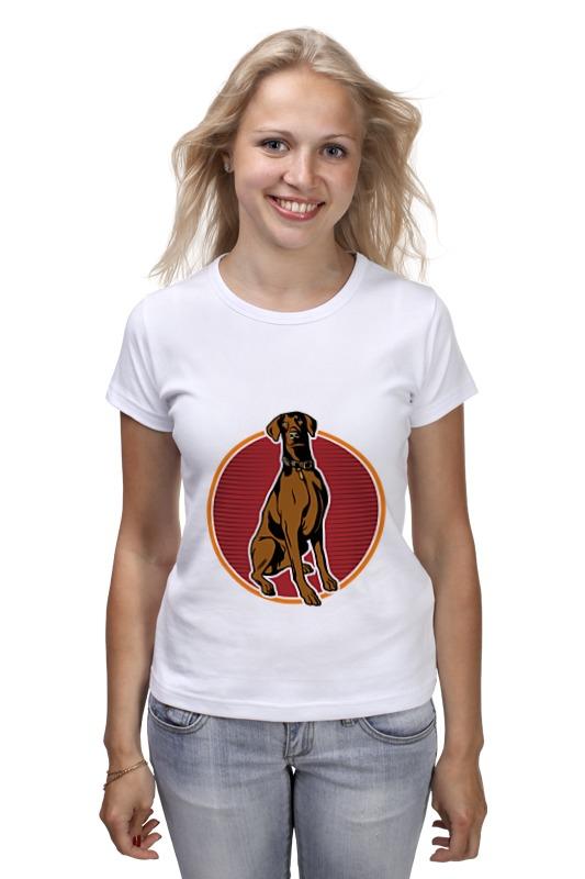 Футболка классическая Printio Любимый пёс майка классическая printio любимый пёс