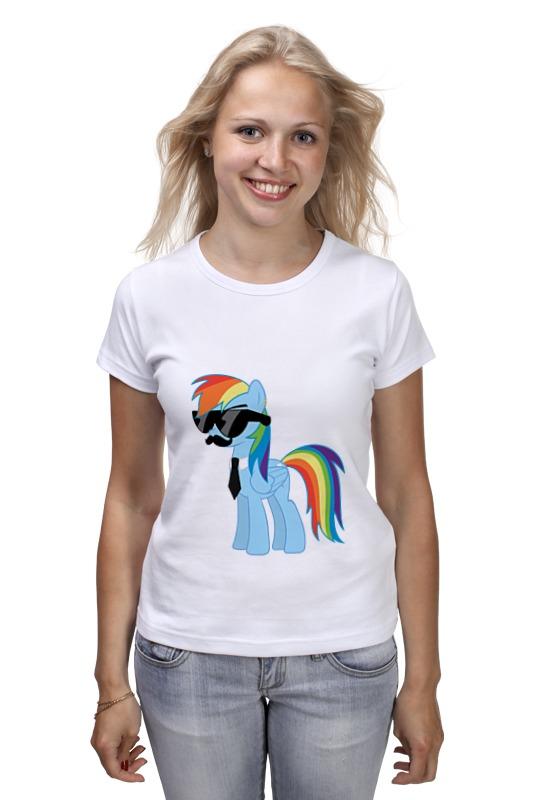 Футболка классическая Printio My little pony - rainbow dash (радуга) брелок ty my little pony rainbow dash 15 24 см