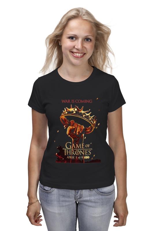 Футболка классическая Printio Игра престолов / games of trones футболка wearcraft premium printio игра престолов