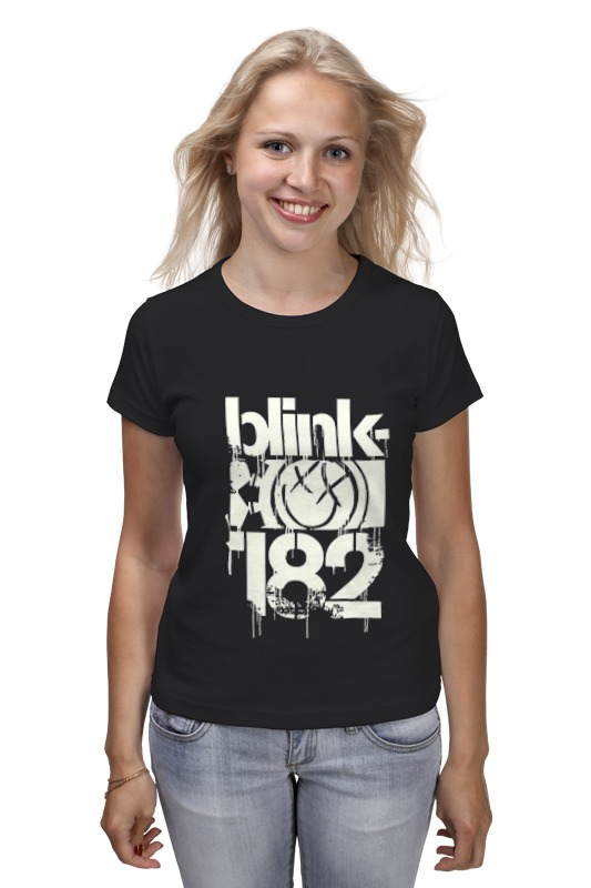 Printio Blink-182 smile shirt цена 2017
