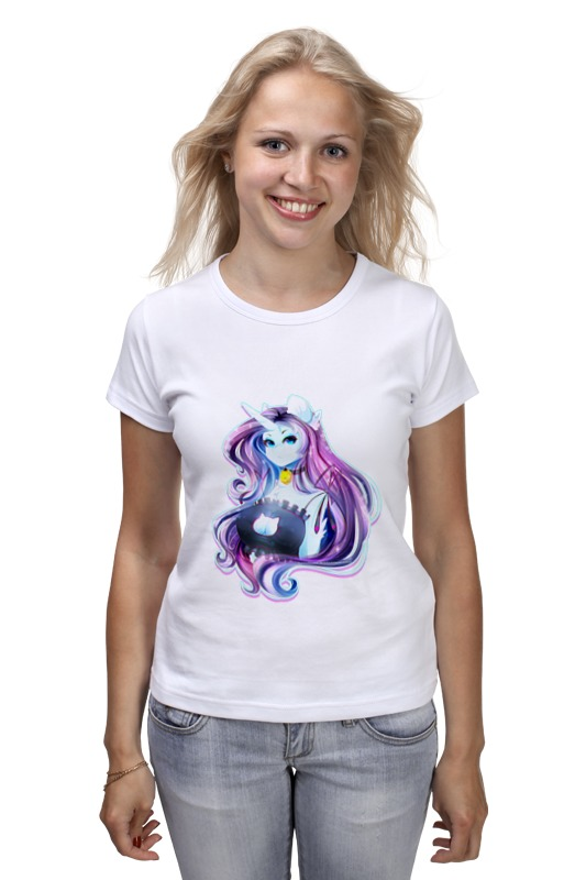 Футболка классическая Printio My little pony: рарити-девушка девушка из джерси