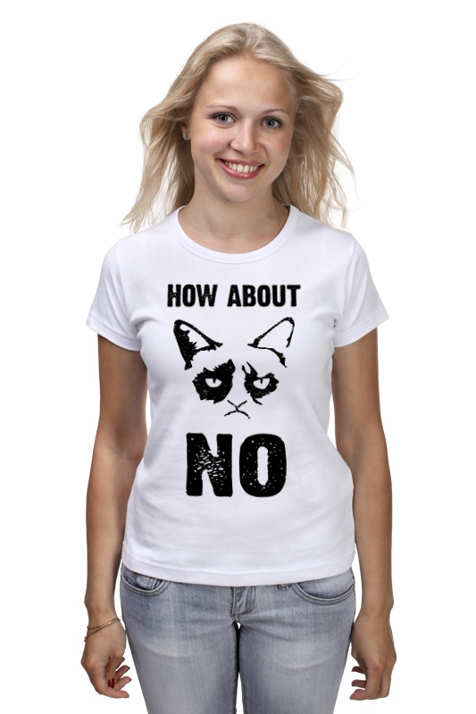 Printio Grumpy cat. how about no?! цены онлайн
