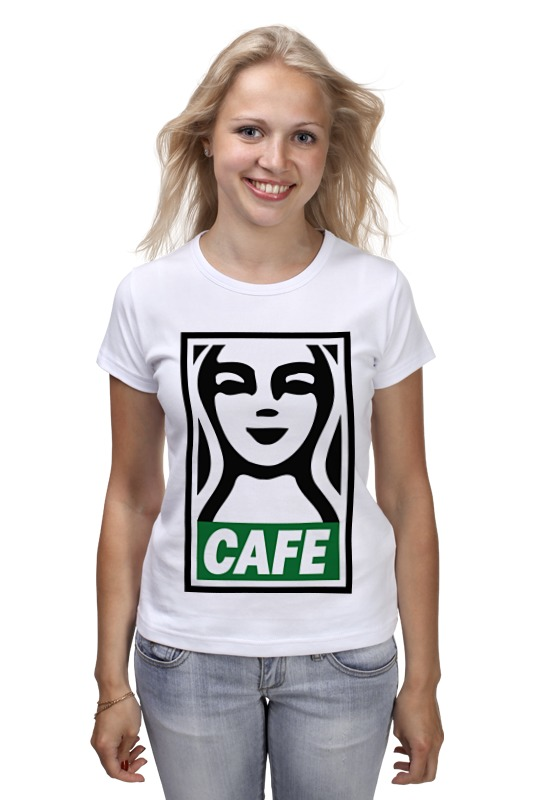 Футболка классическая Printio Starbucks (obey) футболка стрэйч printio belles book cafe starbucks