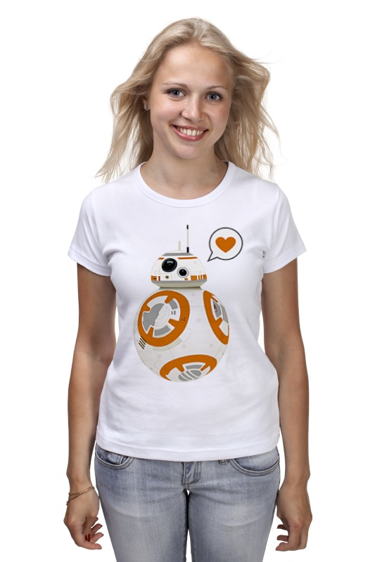 Футболка классическая Printio Sphero's star wars bb-8 droid 2017 new 565pcs bela 10374 star wars battle droid troop carrier spaceship vessel cruiser jar binks blaster brinquedos leping