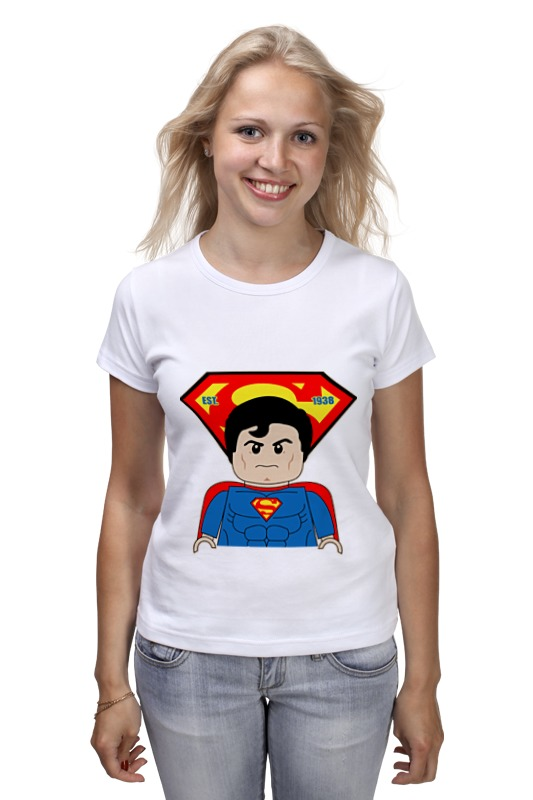 Футболка классическая Printio Лего супермен детская футболка классическая унисекс printio лего lego
