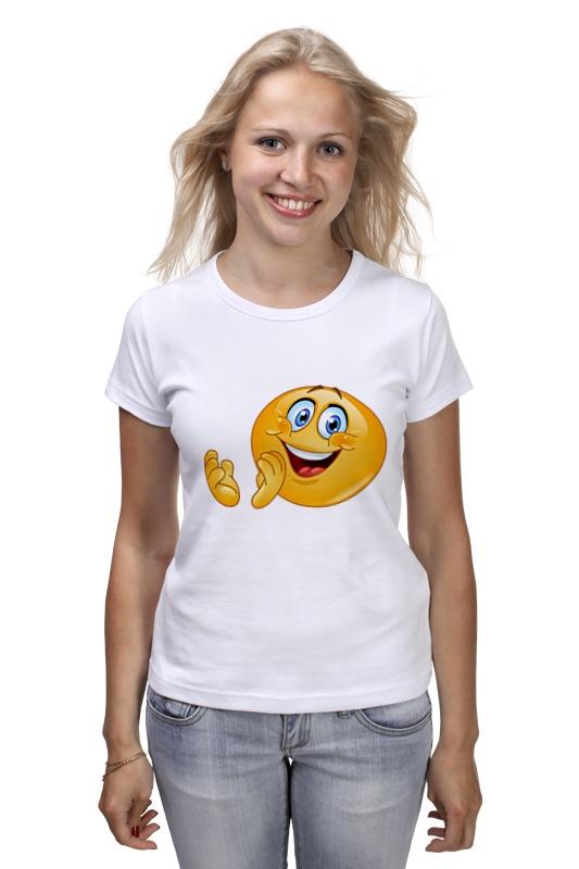 Футболка классическая Printio Колобок улыбающийся. смех радость. smile футболка классическая printio колобок улыбающийся смех радость smile