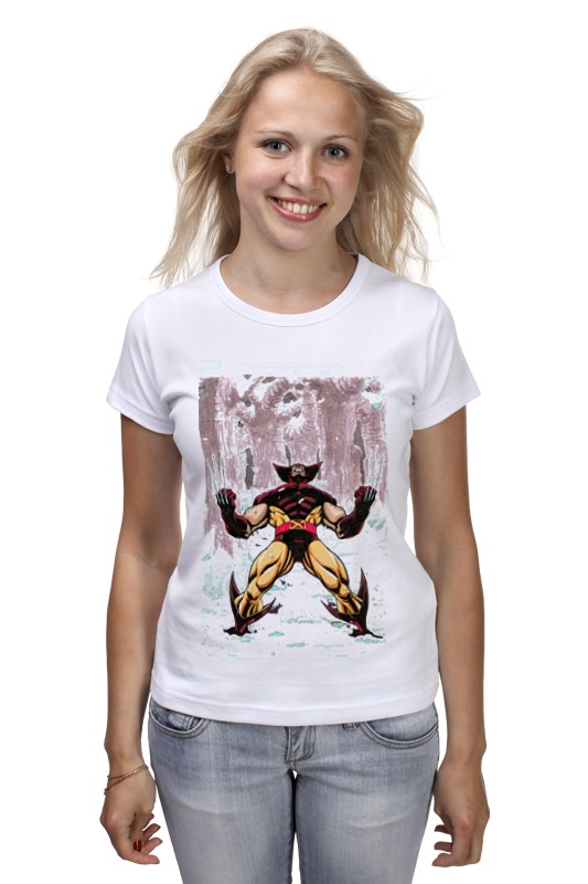 Футболка классическая Printio Wolverine. marvel marvel platinum the definitive wolverine reloaded