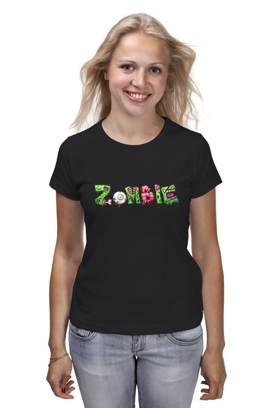 Футболка классическая Printio Zombie halloween costumes for kids cosplay zombie scary intestines clothes stage outfits for children set horror night zombie clothing