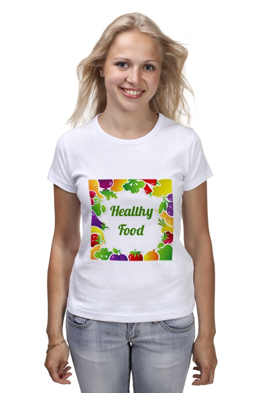 Printio Healthy food футболка классическая printio healthy food
